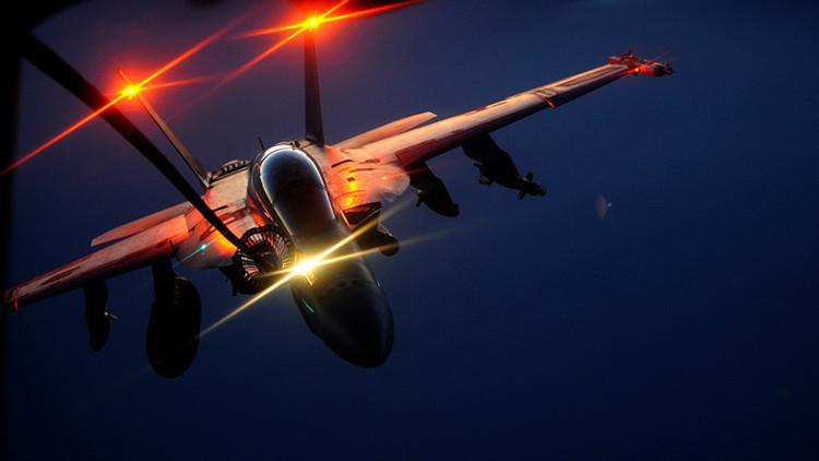 Estados Unidos camufla un avión en Siria para hacerlo pasar por ruso