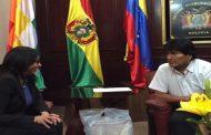 Bolivia se solidariza con Venezuela frente a los intentos desestabilizadores de la derecha