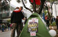 Cientos de brasileños se movilizaron en apoyo a Lula Da Silva