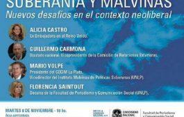 """Periodismo será sede de la charla """"Malvinas y el nuevo contexto neoliberal"""""""