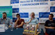 Especialistas debatieron en la facultad de Periodismo sobre la relación del fútbol con el poder