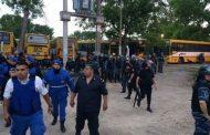 Brutalidad policial en La Plata: reprimen y detienen a colectiveros que defendían sus puestos de trabajo