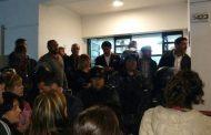 """Saintout pidió """"solidaridad"""" de todos los platenses contra la represión de Garro y Vidal"""