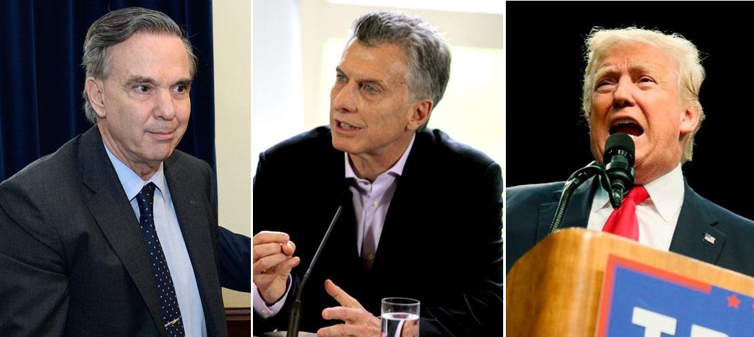 Ni Macri, ni Pichetto, ni Trump son racistas… ¡si hasta tienen un amigo peruano!
