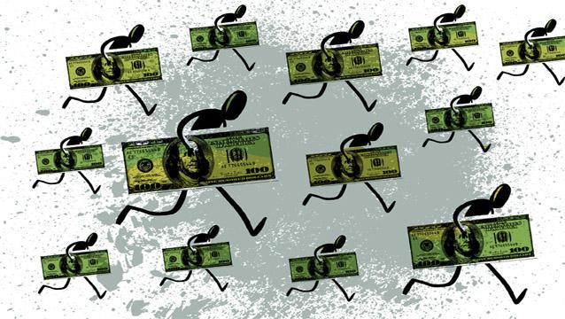 """Son más lo dólares que se fugan que los """"vuelven"""" por el blanqueo"""