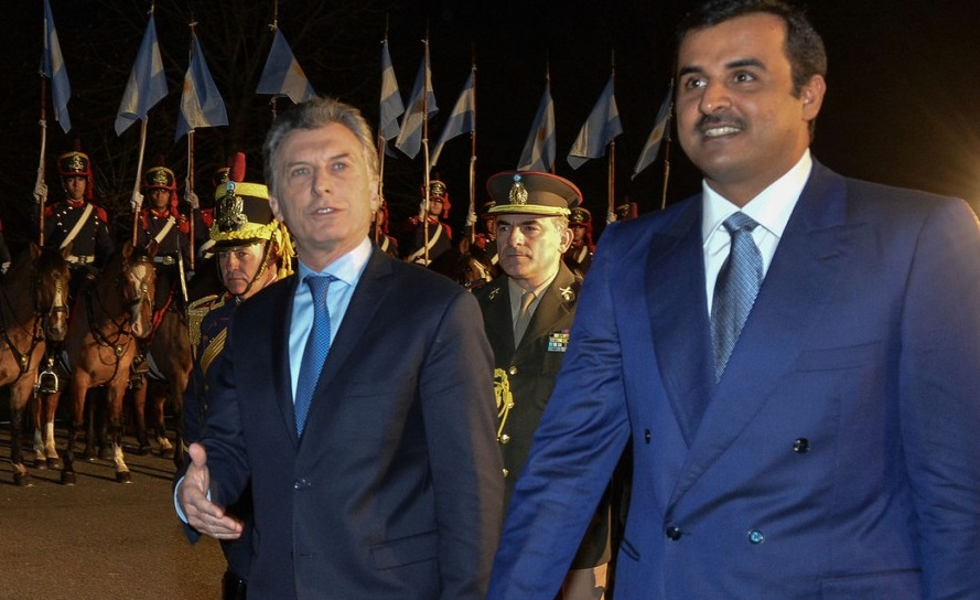 Macri, Michetti, Malcorra y Blaquier fueron denunciados penalmente por un sospechoso acuerdo con Qatar
