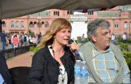 """Saintout exigió la libertad de Milagro Sala en Plaza de Mayo: """"Ella es todos nosotros"""""""