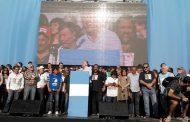 """Plaza de Mayo: las dos CTA pidieron a la cúpula de la CGT que no sea """"instrumento del enemigo"""""""