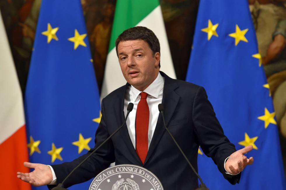 Renzi renuncia tras perder referendo en Italia