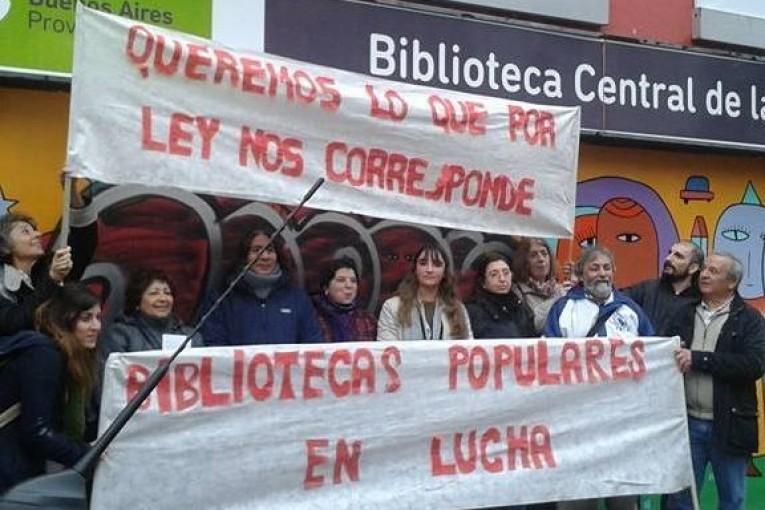 El Colectivo Bibliotecas Populares en Lucha apunta contra el recorte de Vidal en cultura y educación