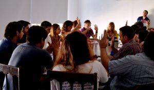 Se desarrolló la última sesión del Consejo Directivo. (foto: prensa Periodismo UNLP)