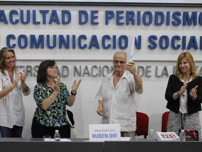 Recibió Rubén Dri el doctorado Honoris Causa de la UNLP