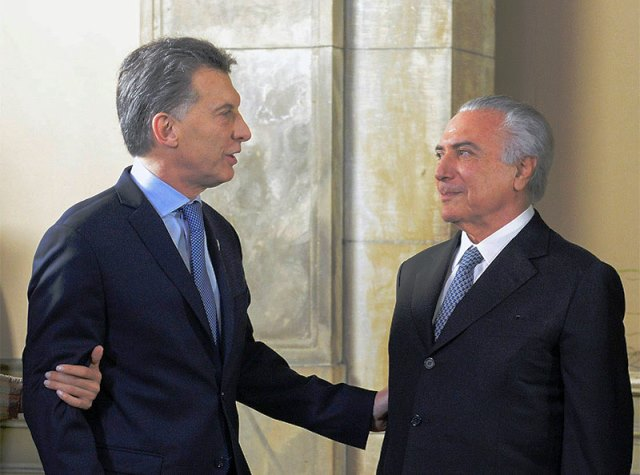 Cuentas offshore: Sospechan encubrimiento de Temer a Macri
