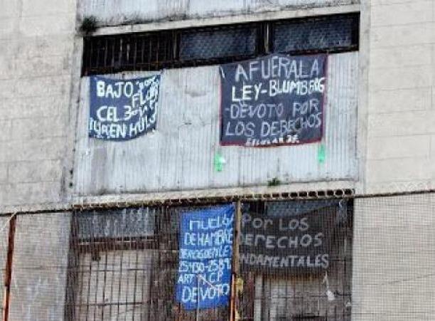 El hambre de la bronca o la bronca de la injusticia: los presos y las presas se alzaron contra la reforma de la Ley de Ejecución Penal