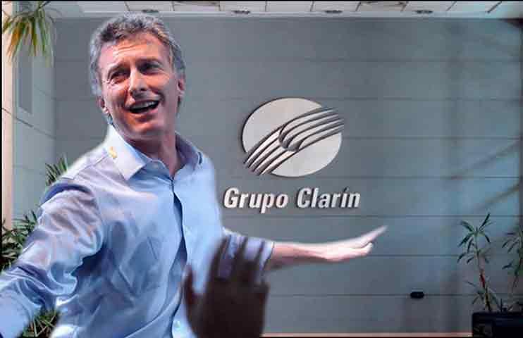 Otro decreto de Mauricio Macri para favorecer al Grupo Clarín