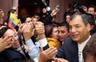 """Correa: """"Podrá haber retrocesos, pero nuestros pueblos jamás permitirán que el pasado regrese"""""""
