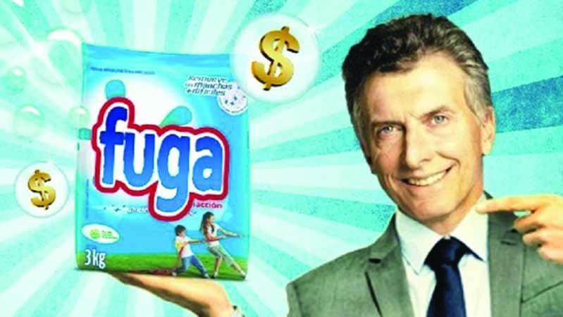 Las últimas 13.208 millones de mentiras de Macri (¡en dólares!) y la fuga de capitales continúa