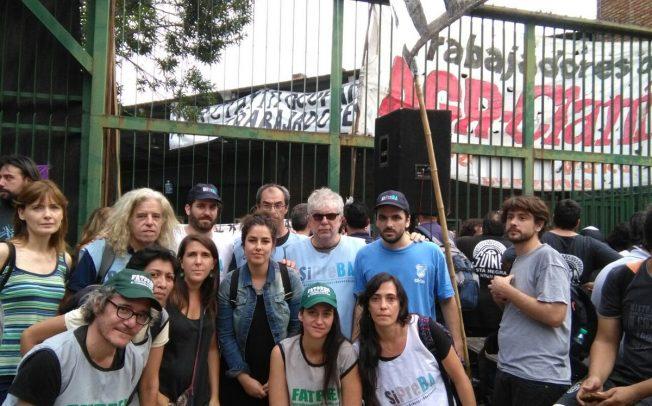 Desde la CTA, la CGT y numerosos sectores sindicales y de trabajadores de medios se repudió la represión en AGR-Clarín