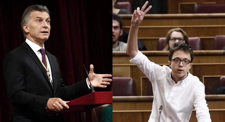 ¡Qué barbaridad che! En las Cortes españolas a Macri poco menos que lo mandaron al carajo, para que no viaje tanto, porque la idea era que se fuese más lejos