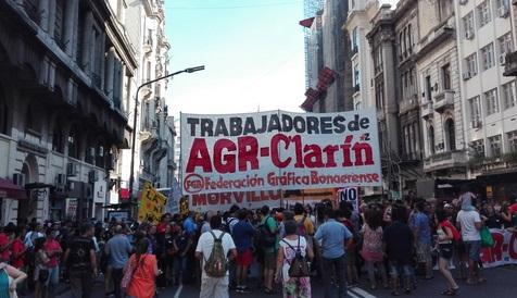 """""""Triaca permite que Clarín haga lo que se le viene en gana"""", denunciaron los gráficos despedidos por Magnetto"""
