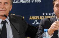 """Mientras Angelici """"arregla"""" partidos Macri defiende a su hombre de la mafia rusa futbolera, que es el jefe de los espías"""