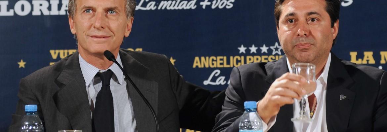 "Mientras Angelici ""arregla"" partidos Macri defiende a su hombre de la mafia rusa futbolera, que es el jefe de los espías"