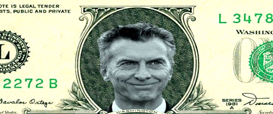 """""""Y pegue, y pegue Macri pegue"""", cantan regordetes y obscenos los bancos, porque ganaron en 2016 un 24 por ciento más que en 2015"""