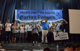 """""""Los que estamos acá creemos en la capacidad de la política para transformar el mundo, y creemos en la conducción de Cristina"""", dijo Florencia Saintout"""