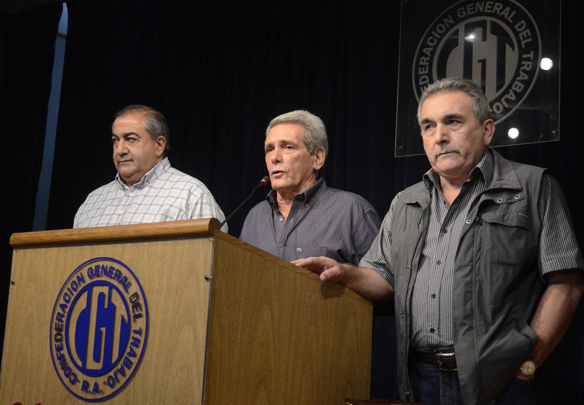 ¡Por fin! El triunvirato de la CGT le puso fecha al paro general contra Macri: será el 6 de abril, aunque sin movilización