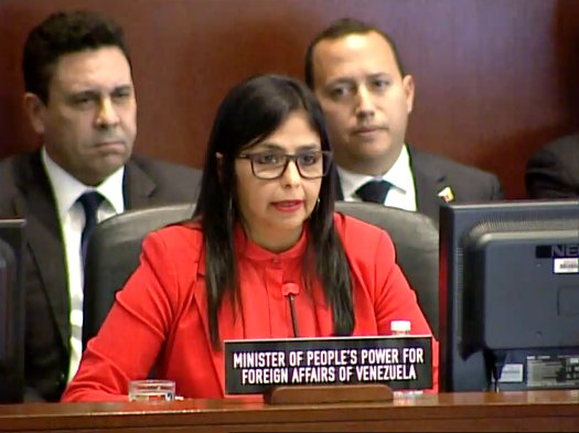 """Venezuela pide a miembros de la OEA que """"no dejen engañarse ante las mentiras"""" de Almagro y Estados Unidos"""