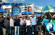 """Saintout junto al movimiento obrero: """"seguiremos en las calles mientras tengamos un gobierno que hace oídos sordos a todos los derechos"""""""
