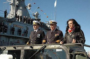 """Nilda Garré lo cruzó a Macri: """"El complejo militar industrial de Estados Unidos quiere vender, no donar"""", dijo la ex ministra de Defensa"""