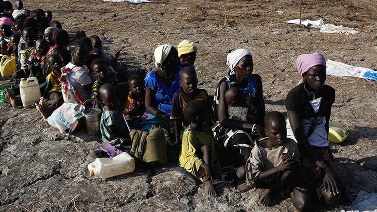 La política belicista de EE.UU., el país de Obama, Hillary, Trump, lleva hambre a cuatro de los países africanos más comprometidos por ese flagelo