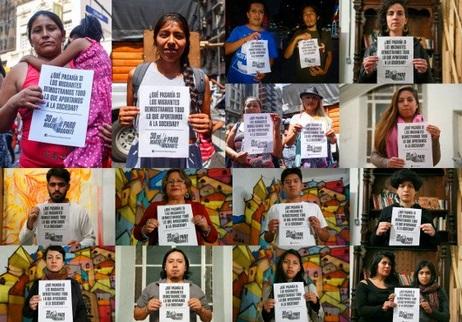 Paro y movilización: los migrantes se plantan contra las políticas xenófobas, racistas y discriminatorias de Macri