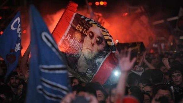 """Una locura: """"Un enorme agradecimiento, saben que no existe en el mundo algo así"""", dijo el Indio Solari antes de cerrar su concierto con muertos y heridos"""