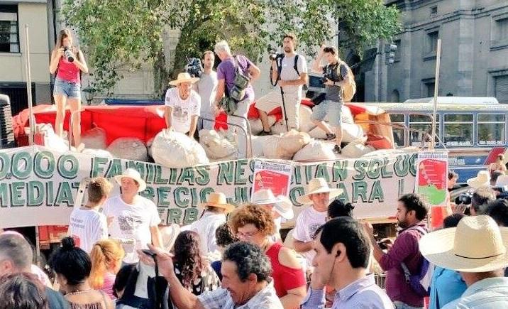 Yerbatazo contra el trabajo esclavo avalado por el Gobierno nacional