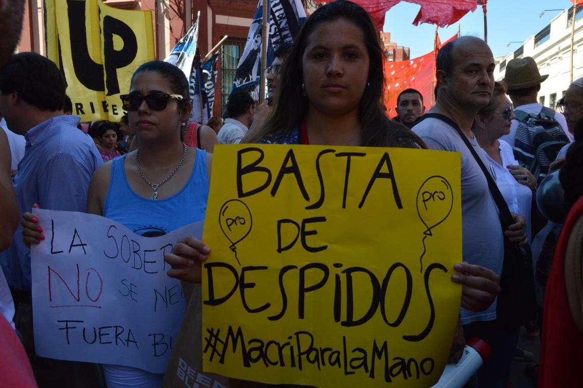Suman 250 mil los despidos y las suspensiones en la era Macri