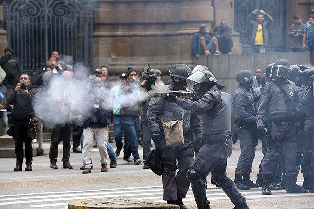 Brasil: El golpista Michel Temer respondió a la huelga general con una represión salvaje