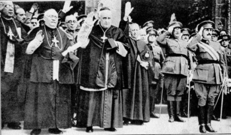 Un Opus y rey de la papa frita fascista quiere que los curas den clase en las escuelas públicas