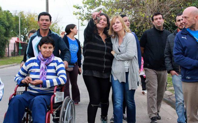 """Florencia Saintout llama a """"organizarse en forma solidaria en los barrios"""" para enfrenar el modelo de Cambiemos"""