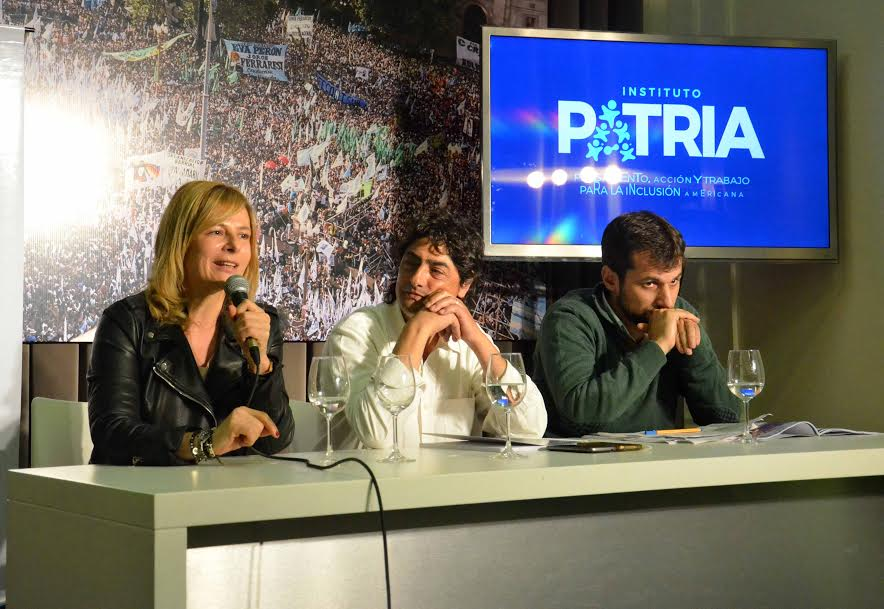 """""""En La Plata, lo urbano y la distribución de la tierra es racista, patriarcal y profundamente clasista"""", dijo Florencia Saintout"""