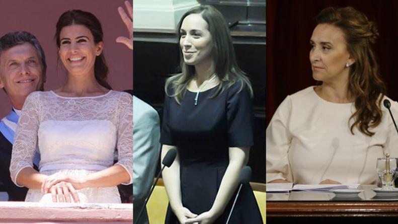 María Eugenia, Juliana y hasta la desgastada Michetti, aquí están, ellas son, acaso las mujeres que la CIA piensa para Argentina