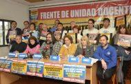 """Solución o paro: """"Jamás vimos que un gobierno democrático se ensañara tanto con los docentes como lo está haciendo Vidal"""""""