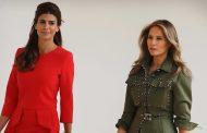 Ivanka Trump y Juliana Awada dos esbeltas figuritas garcas unidas por una pasión: explotar a los trabajadores más vulnerables