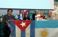 El periodista Santiago Masetti, nieto del fundador de Prensa Latina, habló en un acto por el aniversario de esa Agencia y el legado del Che