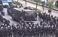 Feroz represión en la 9 de Julio: la policía de Larreta arremetió contra cooperativistas que pedían trabajo y emergencia alimentaria