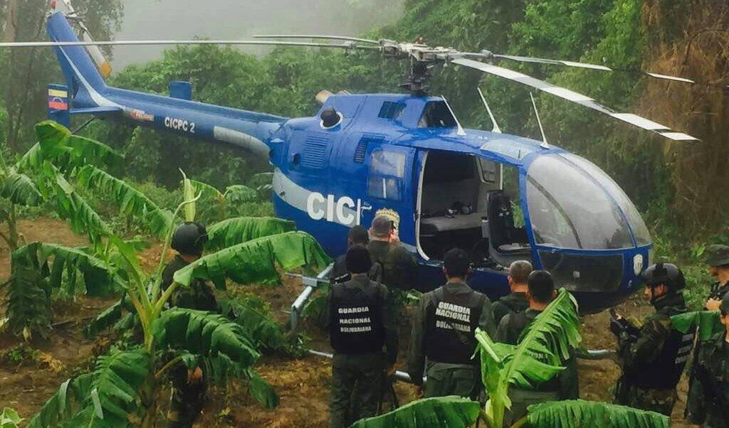 Hallan helicóptero utilizado para atacar instituciones venezolanas y ahora buscan al terrorista Oscar Pérez