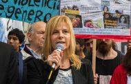 """""""Atención integral y Línea Gratuita contra la violencia de género"""": urgente porque Garro es cómplice de la ola de femicidios"""