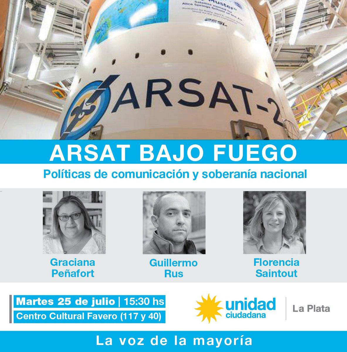 En defensa de ARSAT, Florencia expondrá en torno a los desafíos que presentan las políticas de Macri contra la soberanía nacional