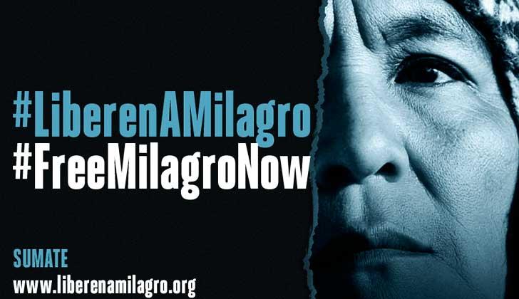 Más de 3.000 personas por hora piden la libertad de Milagro Sala tras el lanzamiento de una campaña internacional